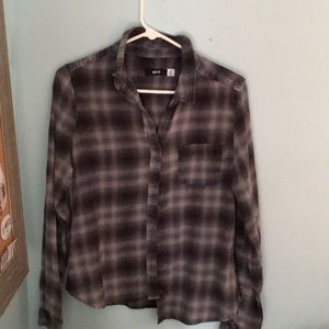 URBAN OUTFITTERS BDG flannel button up shirt